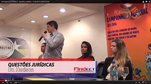 IV Congresso da FINDECT – Questões Jurídicas – 31/05/2015