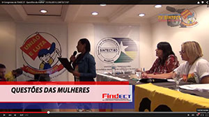IV Congresso da FINDECT – Questões da mulher – 31/05/2015
