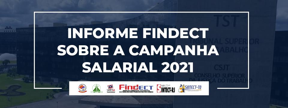 Informe do Sindecteb sobre a Campanha Salarial 2021