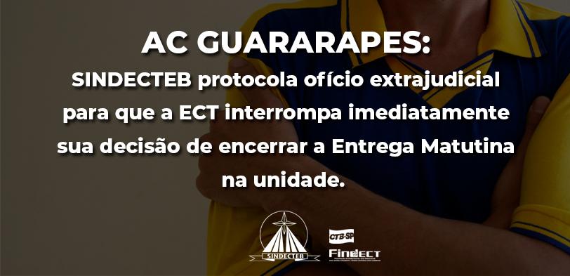 Sindicato protocola ofício extrajudicial contra o encerramento da…